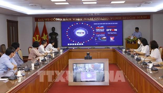 La VNA inaugure une page web speciale sur les elections legislatives hinh anh 3