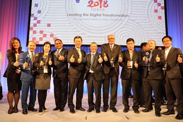 ASOCIO : le Vietnam remporte plusieurs prix en Technologies de l'Information et de la Communication hinh anh 1