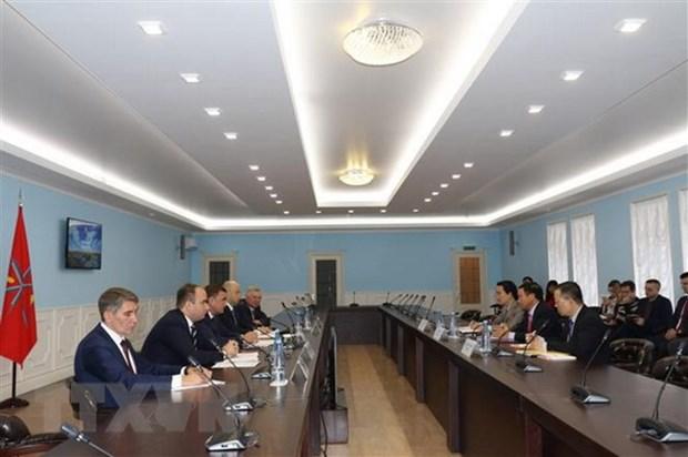 Toula (Russie) prete a renforcer la cooperation avec les localites vietnamiennes hinh anh 1