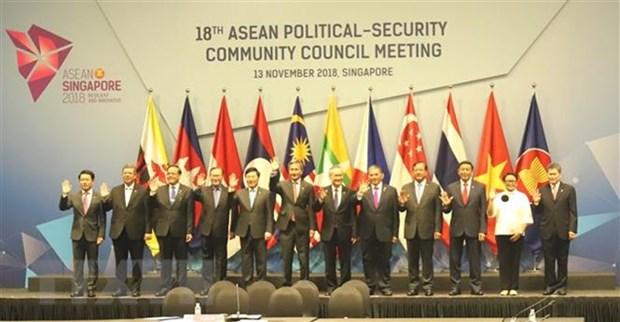 ASEAN: renforcement de la solidarite pour faire face aux defis en matiere de securite hinh anh 1