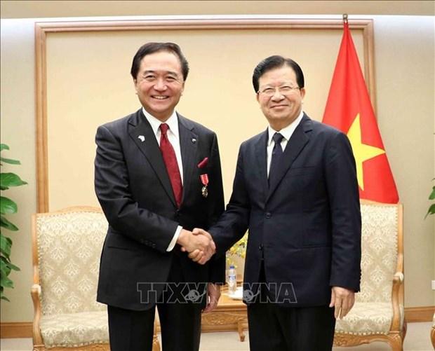 Activites de la delegation de la prefecture japonaise de Kanagawa au Vietnam hinh anh 2