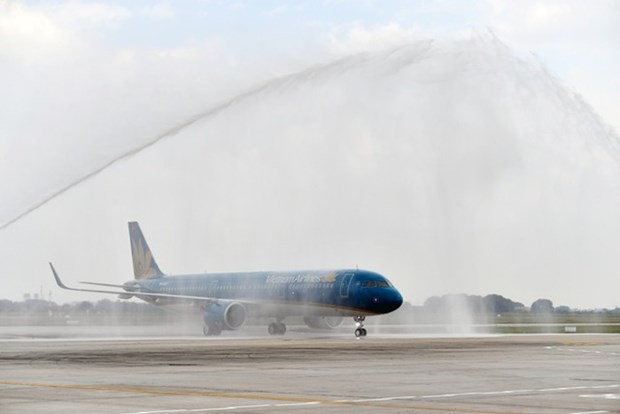 Vietnam Airlines accueille son premier avion A321neo hinh anh 1
