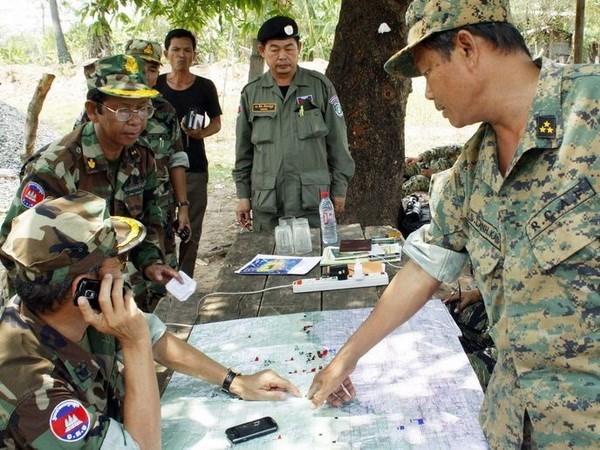 Le Cambodge n'autorisera pas de base militaire etrangere sur son sol hinh anh 1