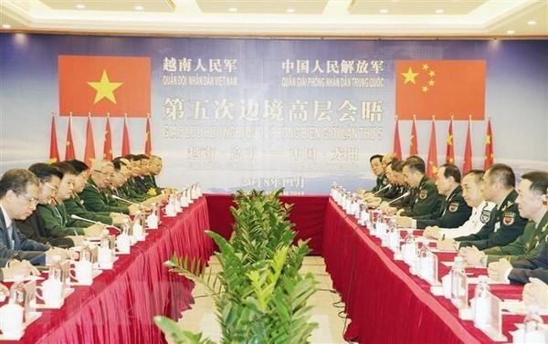 Defense : renforcement des relations entre le Vietnam et la Chine hinh anh 1