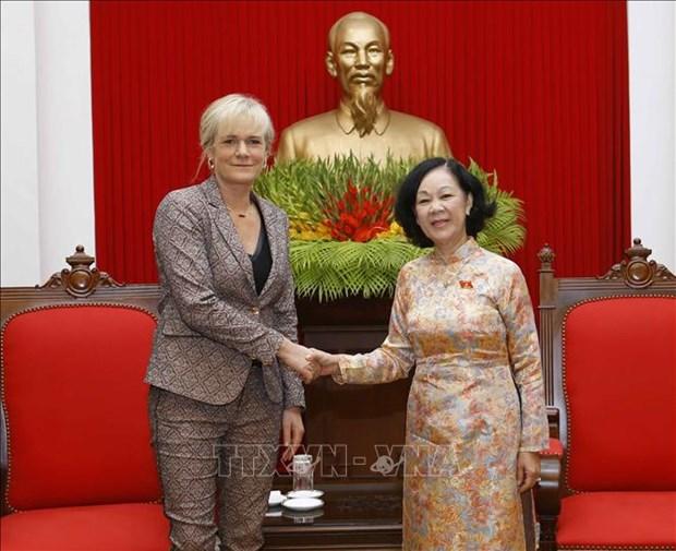 Le Vietnam privilegie le developpement des liens avec l'Allemagne hinh anh 1