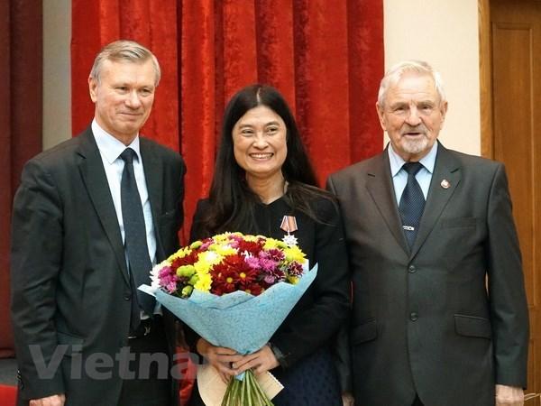 L'Association d'amitie Russie-Vietnam contribue au renforcement de l'amitie entre les deux pays hinh anh 1