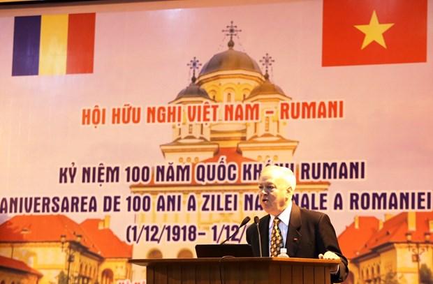 Renforcement de l'amitie et de la cooperation Vietnam-Roumanie hinh anh 1