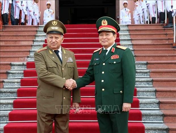 Le ministre des Forces armees revolutionnaires de Cuba en visite au Vietnam hinh anh 1