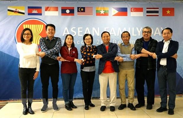 Journee de la famille de l'ASEAN celebree en Russie hinh anh 1