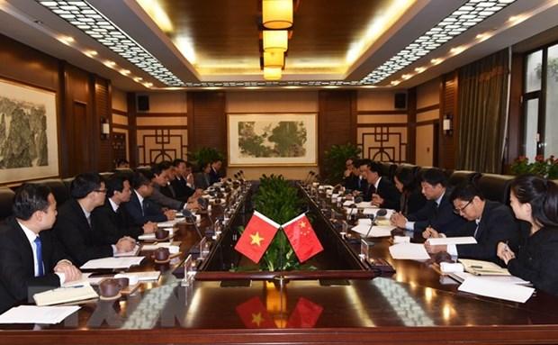 Le Vietnam et la Chine approfondissent leur cooperation agricole hinh anh 1