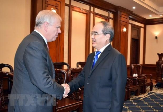 Renforcement de la cooperation entre HCM-Ville et le Royaume-Uni hinh anh 1