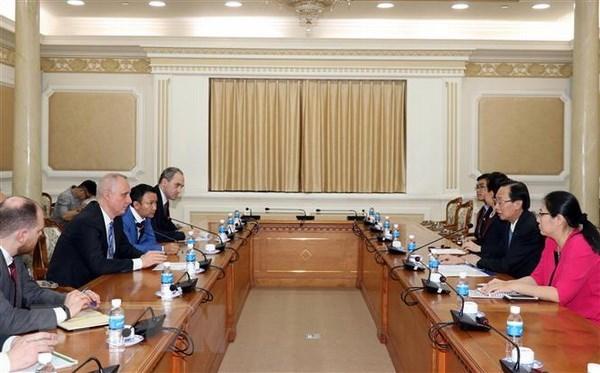 Ho Chi Minh-Ville promet de creer des conditions optimales pour les entreprises bielorusses hinh anh 1