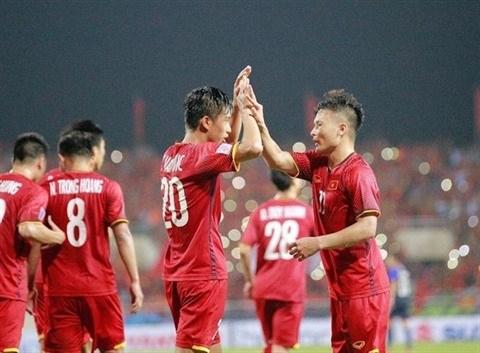 Apercu retrospectif de quatre ans du football vietnamien hinh anh 1