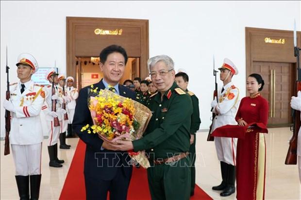Le Vietnam et la Republique de Coree renforcent leur cooperation dans la defense hinh anh 1