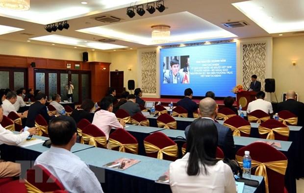 Ho Chi Minh-Ville dialogue avec des entreprises de Vietnamiens d'outre-mer hinh anh 1