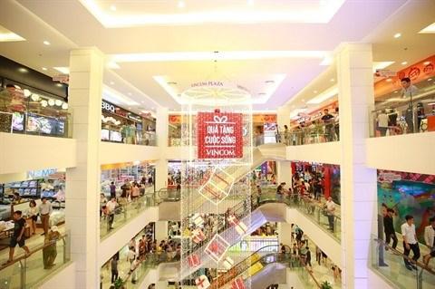 Noel: inauguration de cinq centres commerciaux de Vincom hinh anh 1