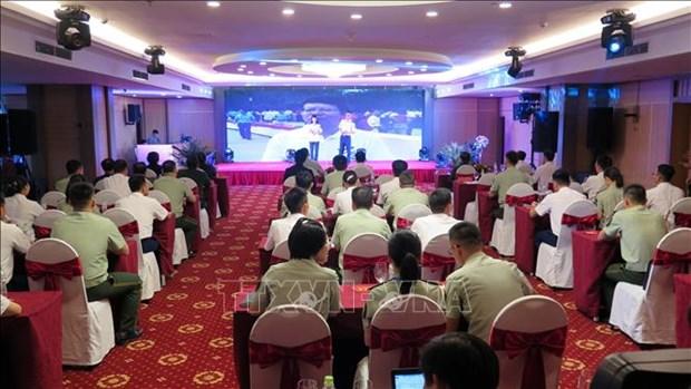 Garde-cotes : programme d'echange entre les jeunes officiers vietnamiens et chinois hinh anh 1