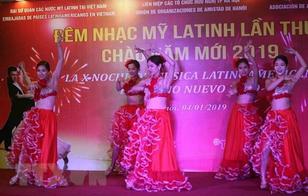 Soiree de musique latino-americaine tres animee a Hanoi hinh anh 1