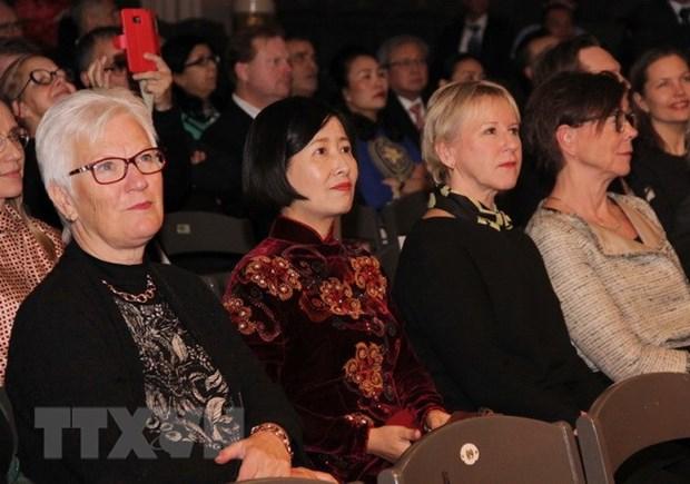 Celebration des 50 ans de l'etablissement des relations diplomatiques Vietnam-Suede hinh anh 1