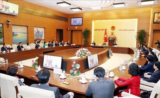 Vietnam-R. de Coree: les deux groupes des deputes d'amitie valorisent leur role de passerelle hinh anh 1