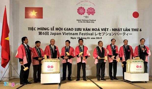 Ouverture du 6e Festival Japon-Vietnam a Ho Chi Minh-Ville hinh anh 1