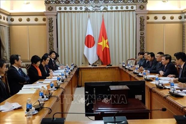 Le Japon, l'un des partenaires les plus importants de HCM-Ville hinh anh 1