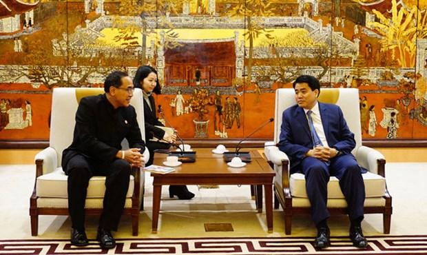 Hanoi souhaite elargir sa cooperation avec la Thailande hinh anh 1