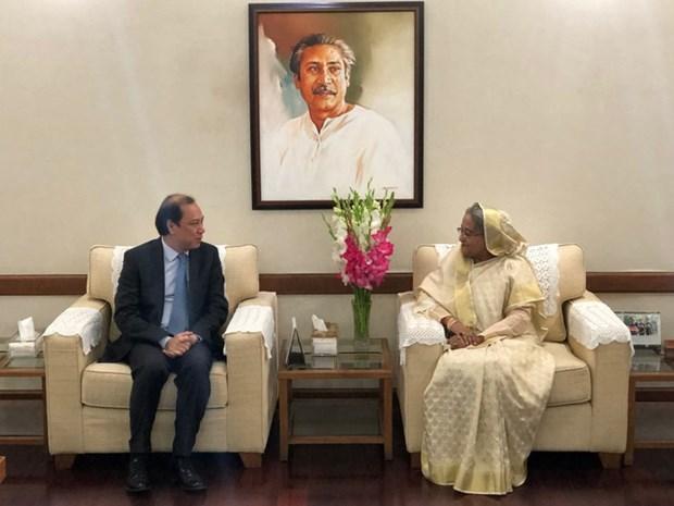 L'envoye special du Premier ministre en visite au Bangladesh hinh anh 1