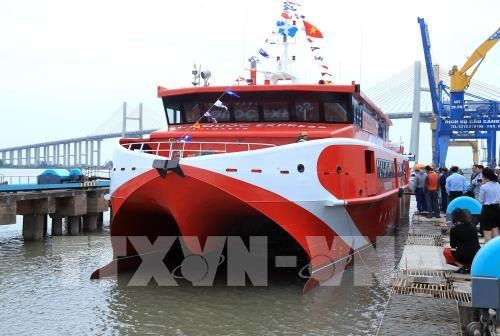 Mise en service du navire a grande vitesse Con Dao Express 36 hinh anh 1
