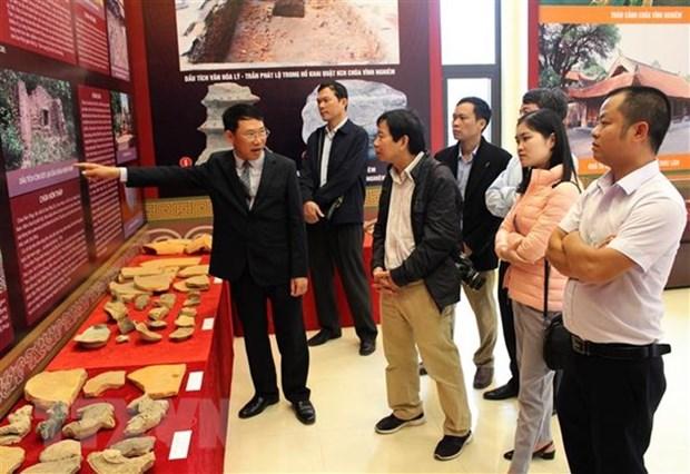 Inauguration de l'exposition sur la secte bouddhiste Zen Truc Lam hinh anh 1