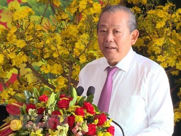 Ouverture de la fete de la pagode Tam Chuc a Ha Nam hinh anh 1
