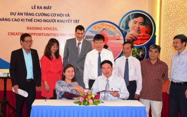 Thua Thien-Hue : une aide americaine pour l'amelioration de la situation des handicapes hinh anh 1