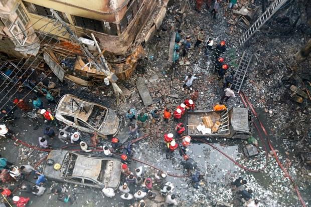 Incendie a Dacca : message de sympathie du Vietnam hinh anh 1