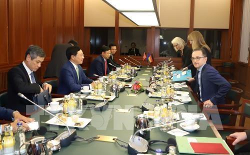 Le partenariat strategique Vietnam-Allemagne entre dans une nouvelle phase de developpement hinh anh 1