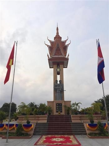 Le 14e monument de l'amitie Vietnam - Cambodge est inaugure au Cambodge hinh anh 1