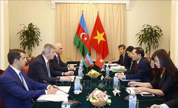 Vietnam-Azerbaidjan: consultation politique entre les ministeres des AE hinh anh 1