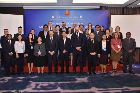 ARF : cloture de la 11e reunion du Groupe de travail de mi-mandat sur la securite maritime hinh anh 1