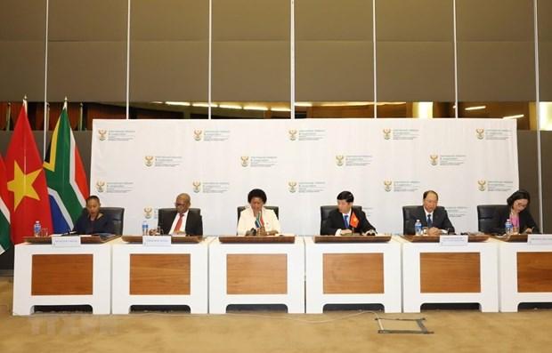 Afrique du Sud-Vietnam devraient developper leurs relations commerciales de maniere plus pratique hinh anh 1