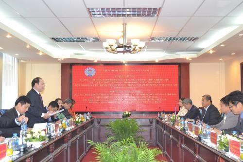 Opportunites de cooperation du secteur economique collectif Vietnam-Laos hinh anh 1