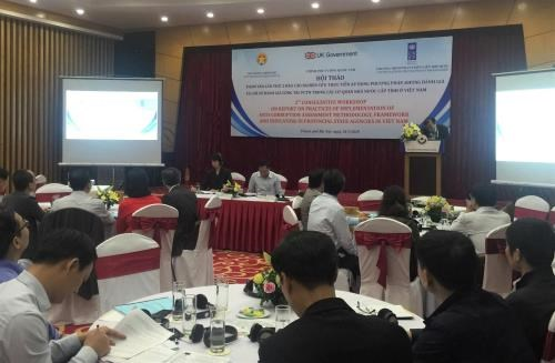 Evaluation de la lutte anti-corruption dans les provinces hinh anh 1