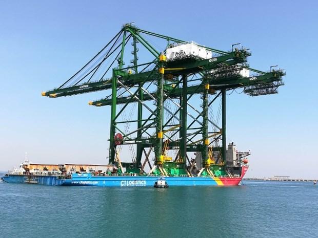 Doosan Vina exporte trois grues RMQC