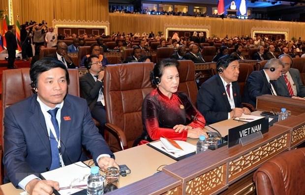 La presidente de l'AN vietnamienne termine sa tournee au Maroc, en France, en Belgique et au Qatar hinh anh 1