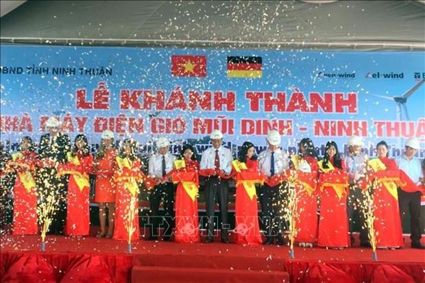 Ninh Thuan : inauguration de la centrale eolienne de Mui Dinh hinh anh 1