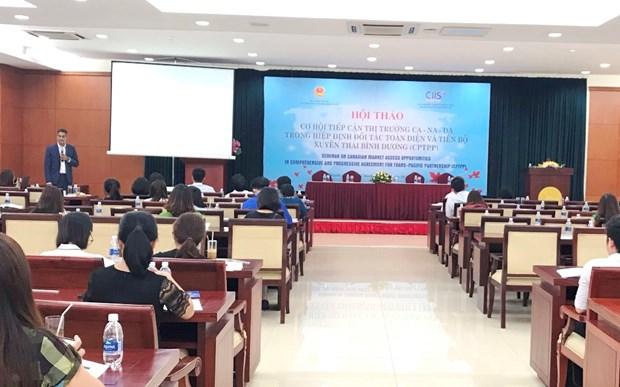 Les echanges commerciaux Vietnam-Canada en forte croissance grace au CPTPP hinh anh 1