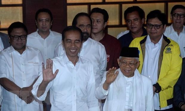 Felicitations au president indonesien Joko Widodo hinh anh 1