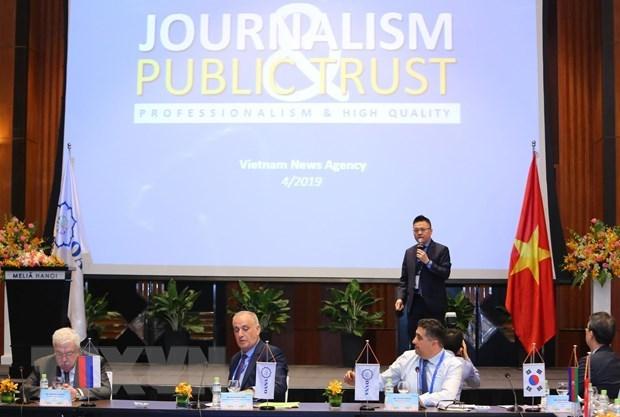 Des agences de presse etrangeres parlent de l'OANA 44 hinh anh 1