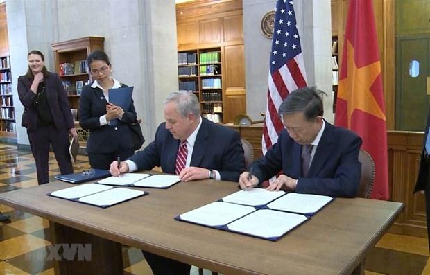 Poursuite des activites du ministre vietnamien de la Securite publique aux Etats-Unis hinh anh 1