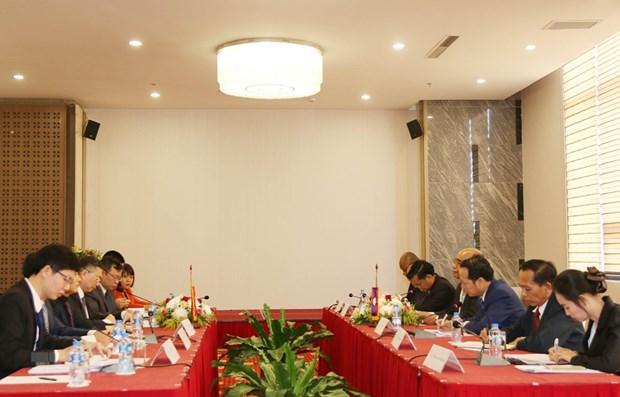 Vietnam et Laos intensifient leur cooperation dans la lutte contre les fausses informations hinh anh 1