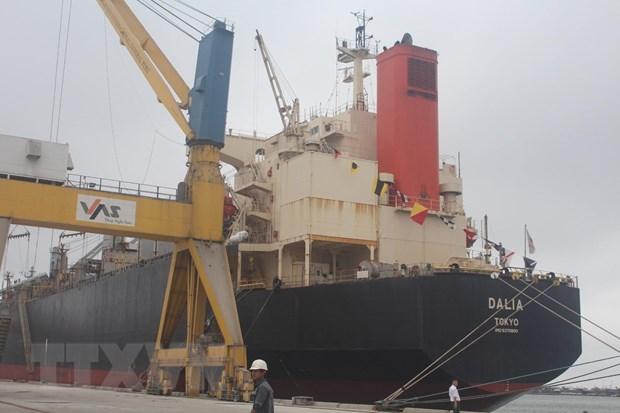 Thanh Hoa : inauguration d'une nouvelle ligne de fret maritime hinh anh 1