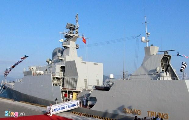 Un navire vietnamien participe a un exercice et une expo a Singapour hinh anh 1